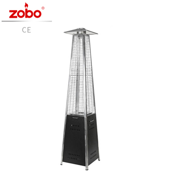 Cheap Glass Tube Flame Pyramid Gas Patio Heater