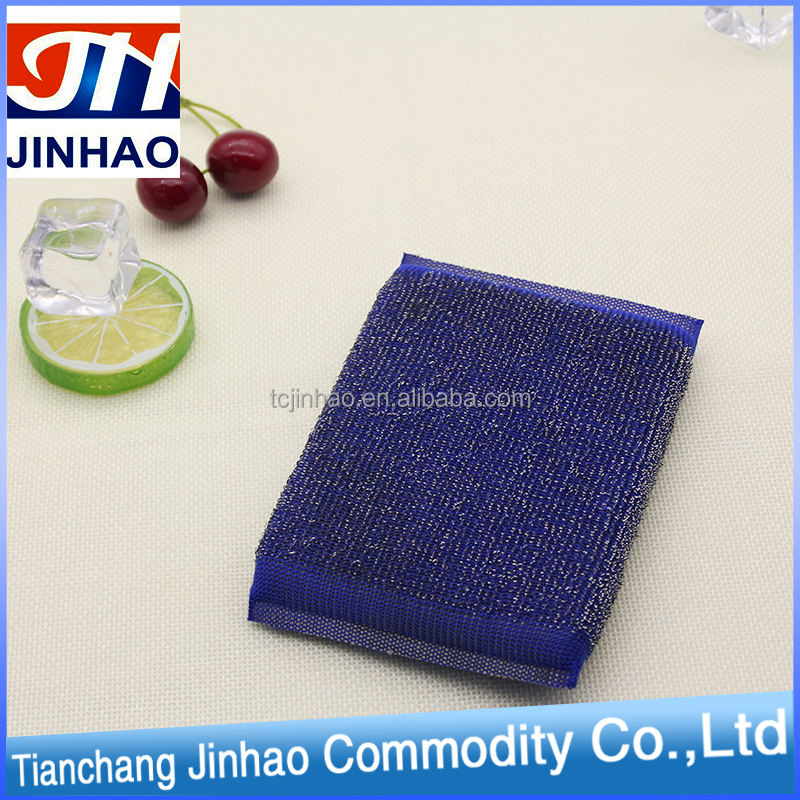 New design hot sale kitchen scourer sponge scouring pad