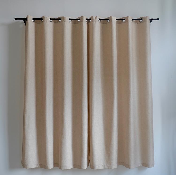nieuwe ontwerp 2528 mm gordijn eindstukken jacquard venster 100 polyester fancy keuken gordijnen
