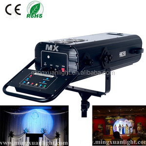 Wedding equipment stage light HMI 1200w follow spot light