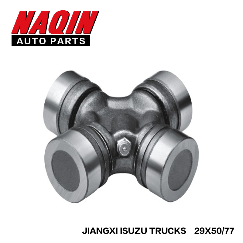 high quality Trucks heavy duty spider universal joint cross 29*50/77 for ISUZU