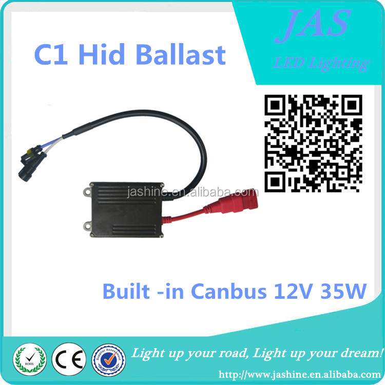 Auto Spare Parts Car C1 Built -in Canbus 12V 35W HID Ballast