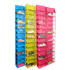 26 pair easy adjustable hanging over the door shoe storage rack organizer