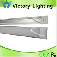led flat tube linear suspension batten light led tube 900mm