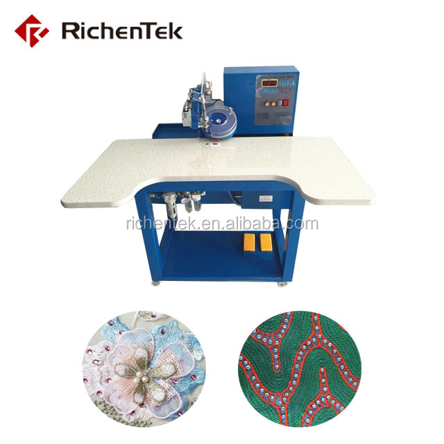 Rhinestone Fix Machine/ultrasonic rhinestones hot fixing machine factory price