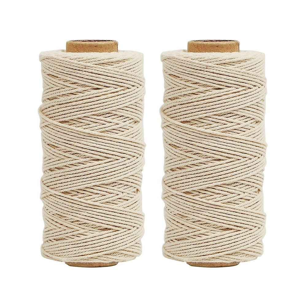 Bakers Twine 2Ply 100m Kitchen Cotton Twine Food Cooking String Pink