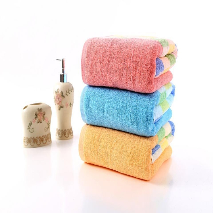 100 cotton fashion wholesale customize new model bath towel