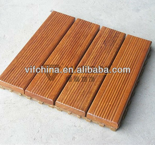 Jatoba hardwood out door use decking floor