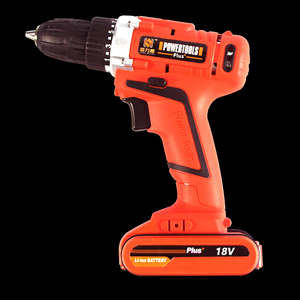 36PC 18V Dual Speed Lithium Electric screwdrivers Cordless Drill Set With a Flexible Bit and Drill Bit Kit