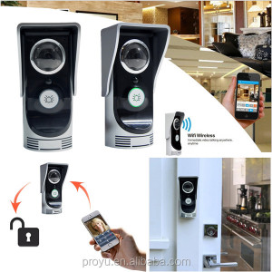 distinctive Android APP support best wifi video door phone intercom system