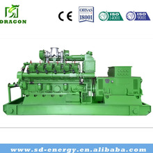 1mw-5mw CNG Silent Natural Gas Generator LPG CNG as fuel