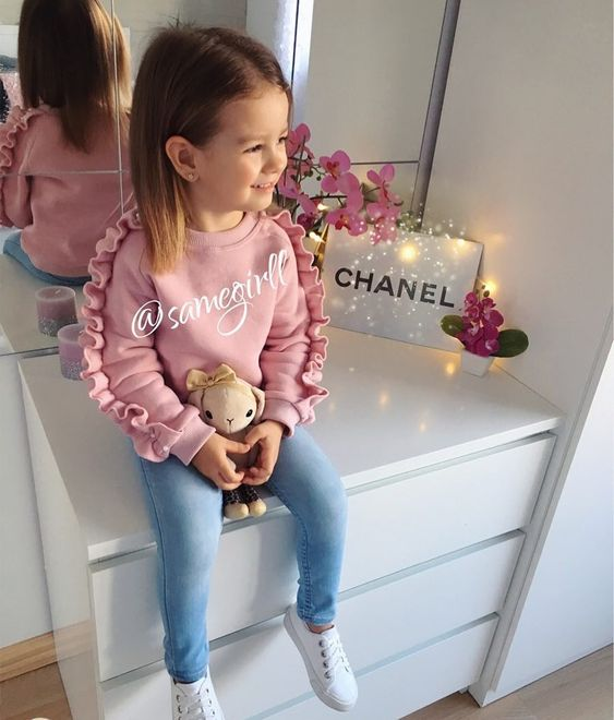 MN047A 2019 latest design kids baby girl boutique clothing sets winter clothes 1 set фото