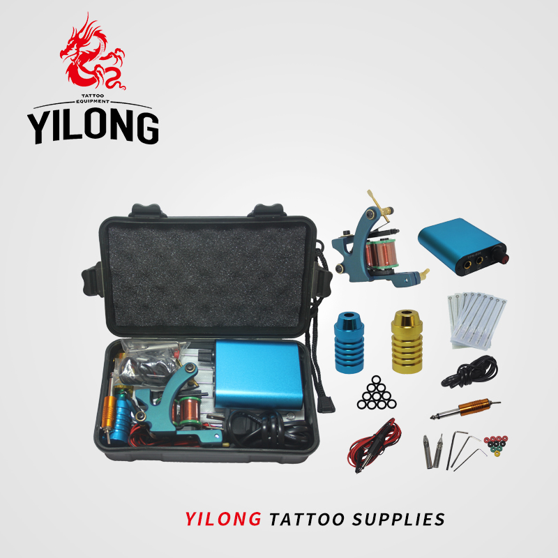 Yilong Mini Tattoo Kit Tattoo Machine /Grip
