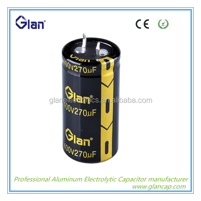 low esr high voltage E-caps electrolytic motor starting capacitor china supplier