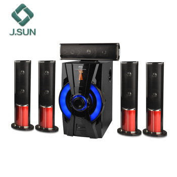5.1 DVD bluetooth home theater with fm sd usb