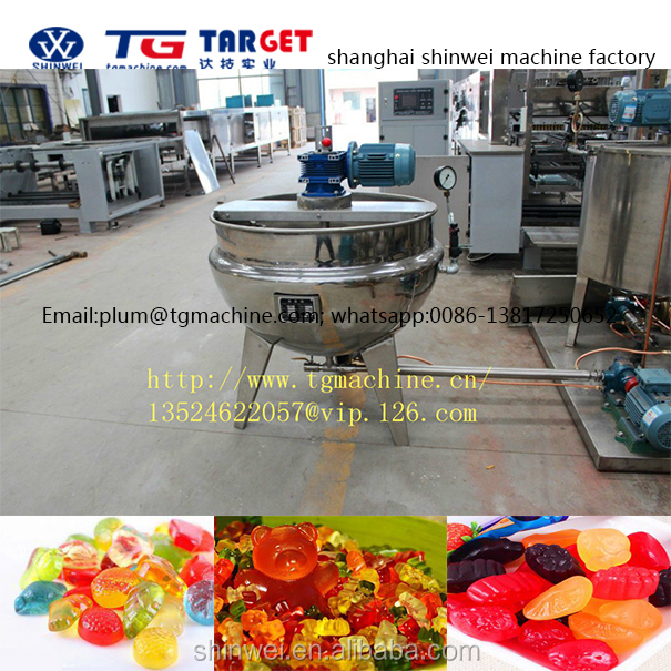GDQ300 Jelly type bear candy depositing machine line
