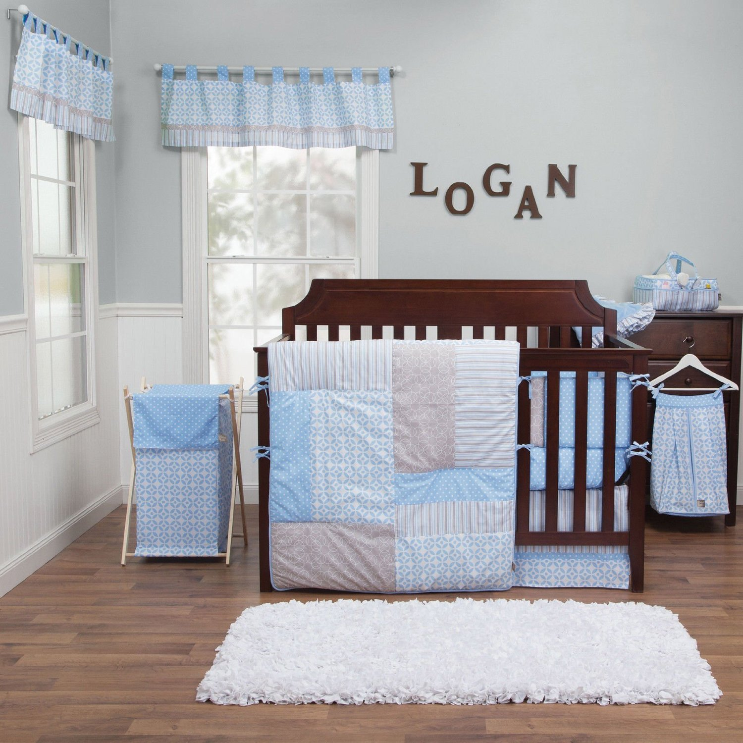This Unique Baby Bedding 5 Piece Crib Set Is Great For Your New Nursery