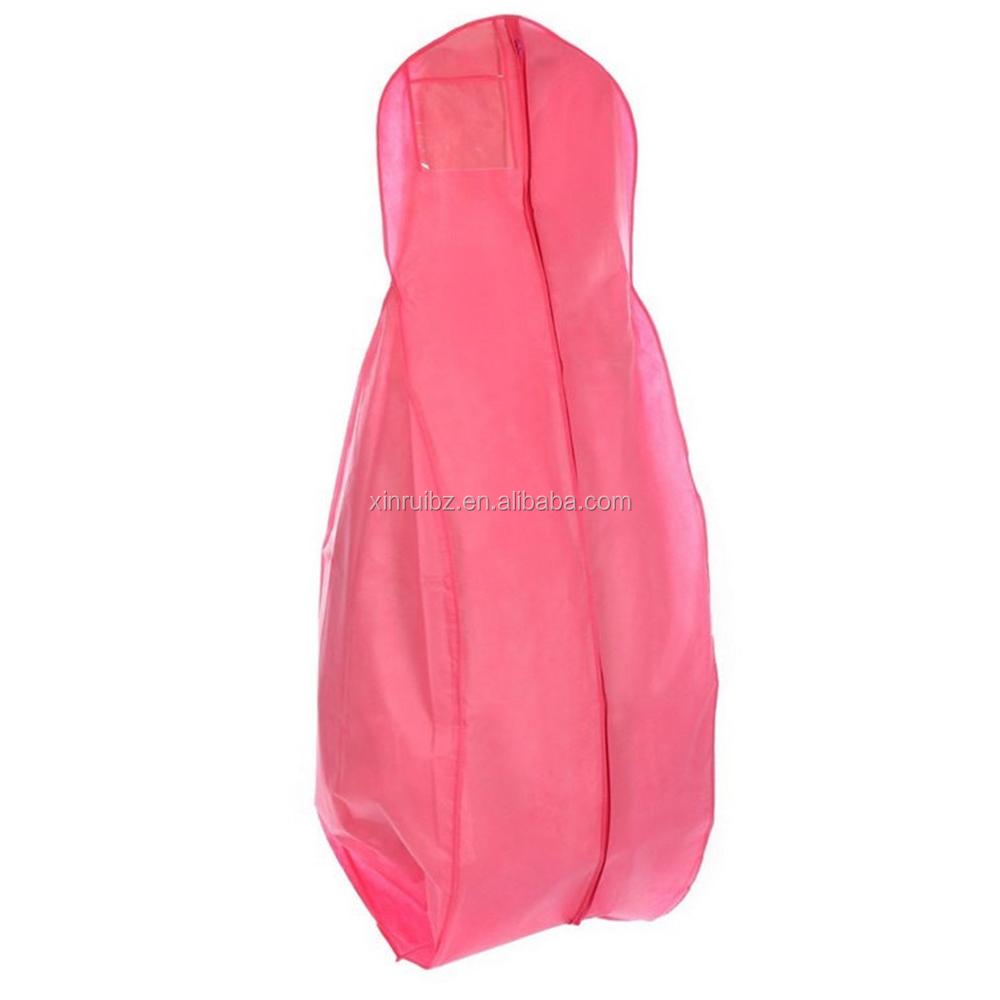 Folding Non Woven Wedding Dress Garment Bag, Folding Non Woven ...