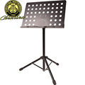 Free shipping Universal Music Stand height adjustable bass guitar piano violin sheet music stand with music
