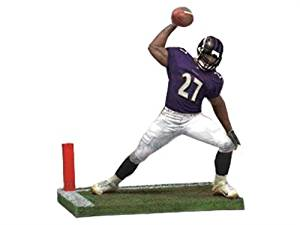 McFarlane 2010 NFL Series 25 Ray Rice Baltimore Ravens Action Figure.
