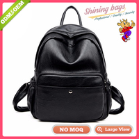 Chinese Imports Wholesale Uk Style Online Store Personalized Fashion Black Backpack Purse
