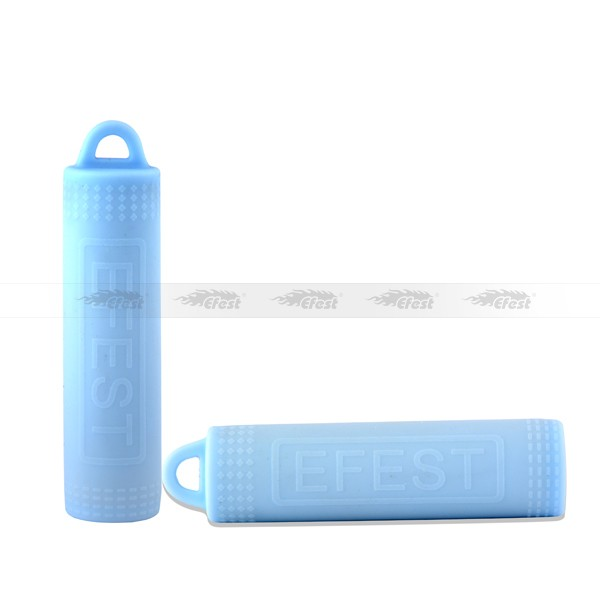 Efest Silicone Colorful Single Pack 18650 Battery Silicone Holder Suit For 18650 Battery