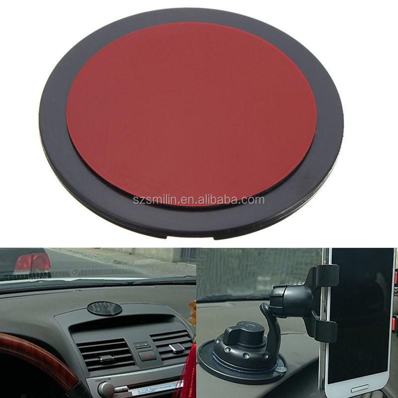 unique adh sif support tableau de bord console disques pour garmin tomtom gps magellan 82mm. Black Bedroom Furniture Sets. Home Design Ideas