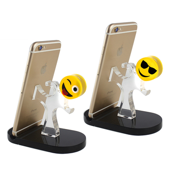 Clear Acrylic Mobile Phone Stand Holder For Iphone
