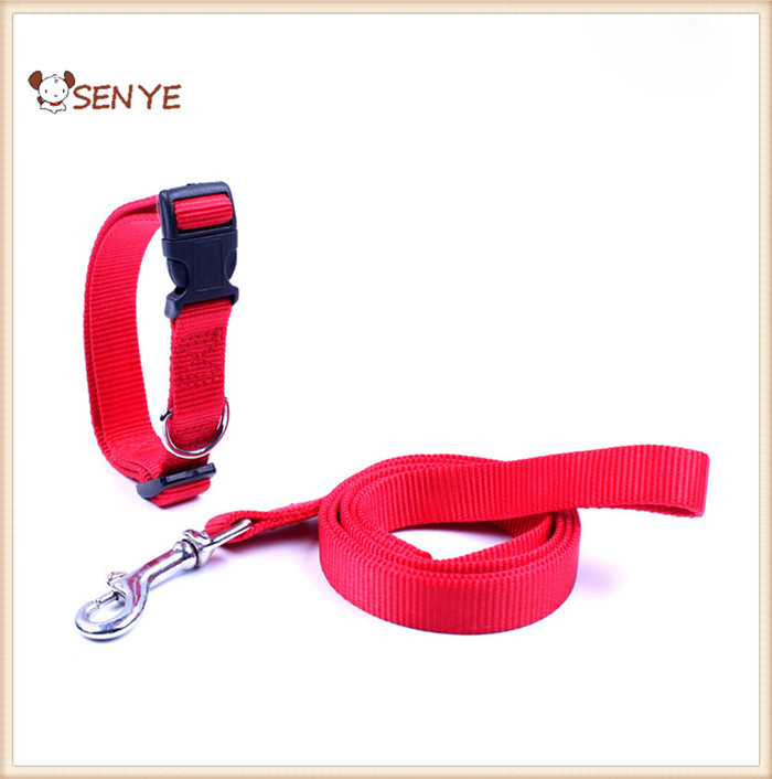 Factory Price Nylon Pet Collor Lead Dog Leash Collar For Large Dogs Pets Leash And Dog Collor