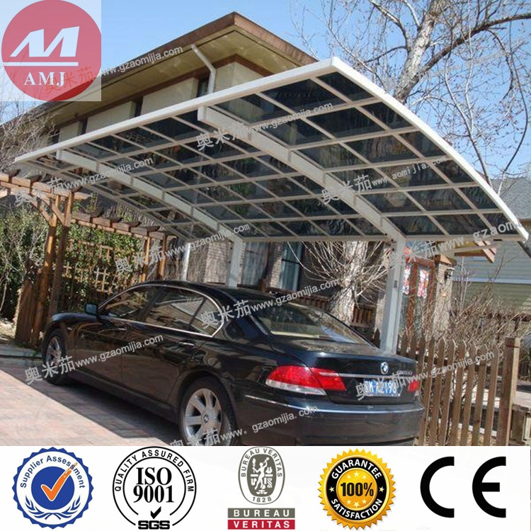 Low price Free Standing Aluminum Frame Cantilever Carport