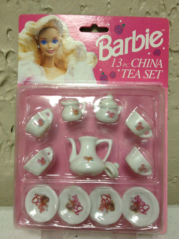 Barbie China Tea Party Set-13 pieces-1994 Mattel