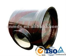 ductile iton pipe fitting double socket tee with flange MDS 043
