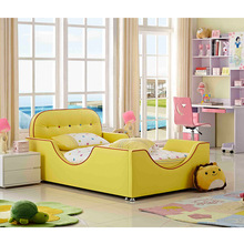 high quality yellow cute small children bed dse00201
