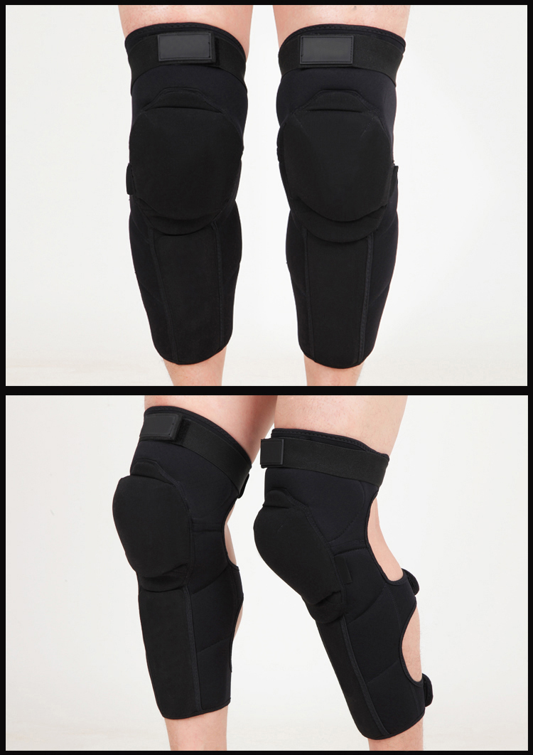 Comfortable long knee support 11