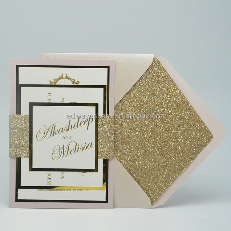 Memory card wedding invitation card greeting card paper envelope printing
