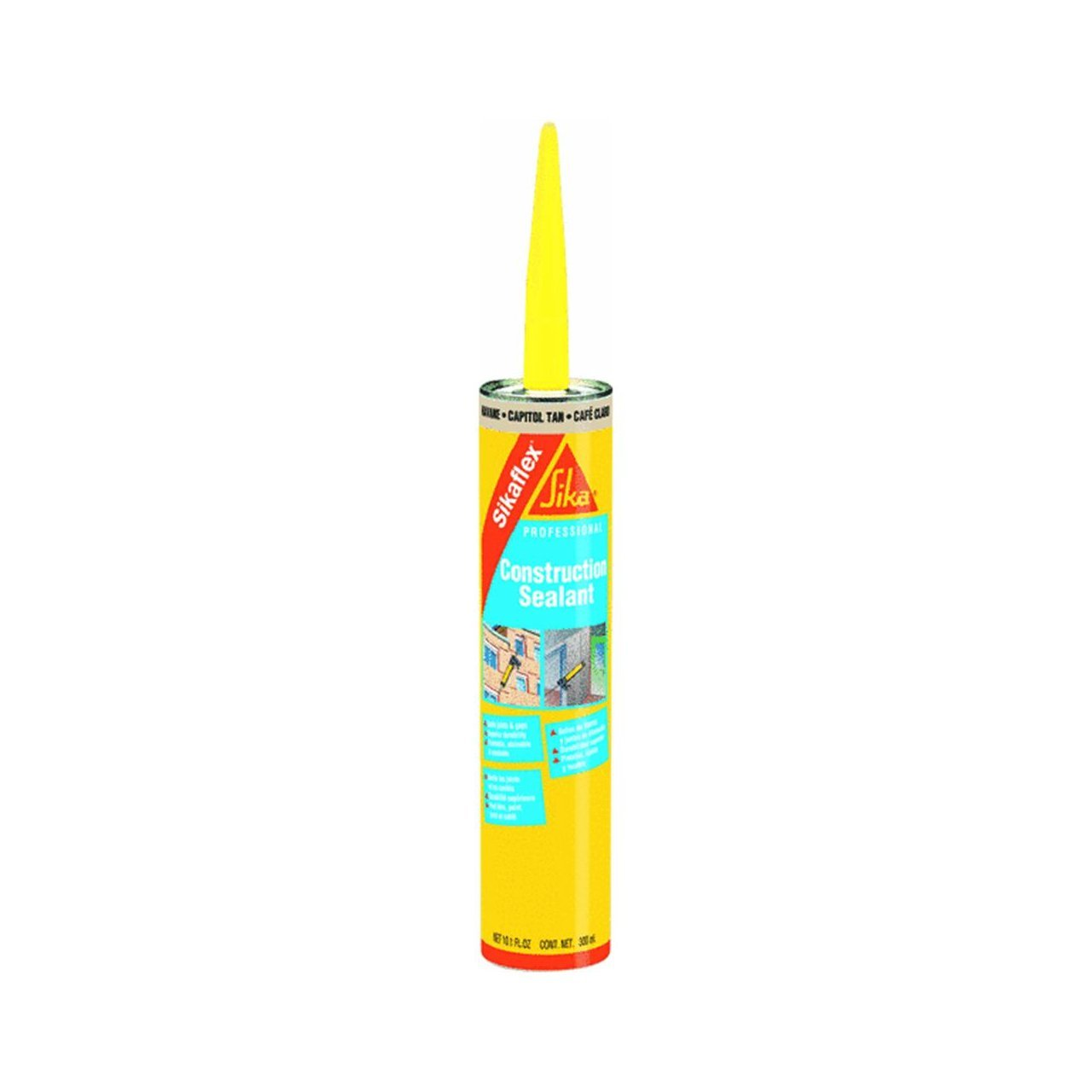 Buy Sika 107840 Sikaflex Construction Sealant Color Of