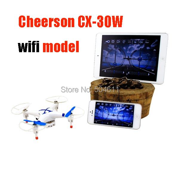 Free Shipping Cheerson CX-30W-wifi Model 4-CH Wi-Fi RC Quadcopter Drone W FPV