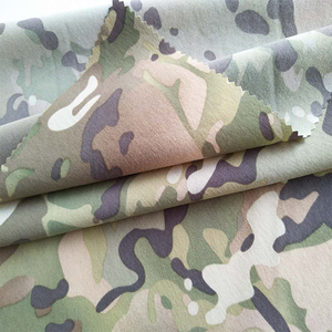 Infrared remission finish screen printing nylon spandex stretchy roll of waterproof camouflage army fabric wholesale
