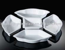 high quality porcelain durable five plates group