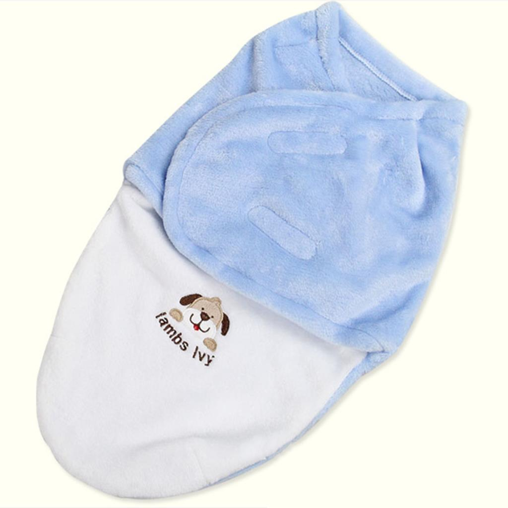 Baby Swaddle Wrap Soft Envelope For Newborn Baby Blanket
