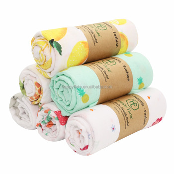 Happy Flute Blanket 100 Muslin Cotton Swaddle Blanket Baby Wrap