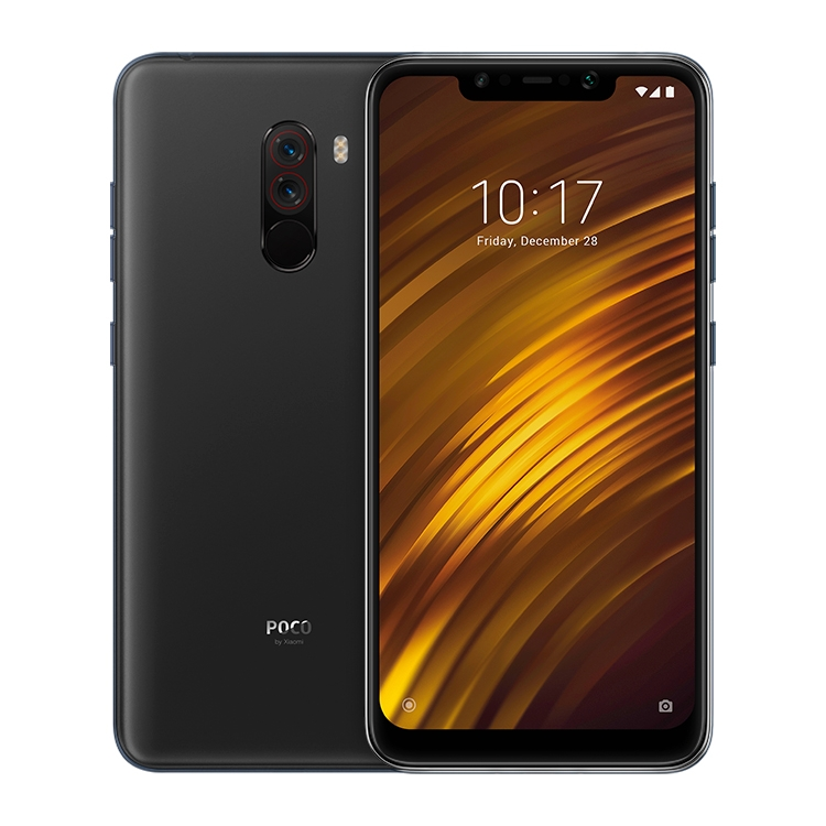 Global Official Version Xiaomi POCO F1 6GB 128GB IR Face Unlock Fingerprint ID Dual Rear Camera 6.18 inch 4000mAh Smart phone