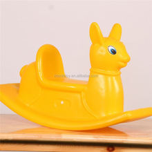 Playground equipment supplier funny rocker toy handles solid color rocking horse handle
