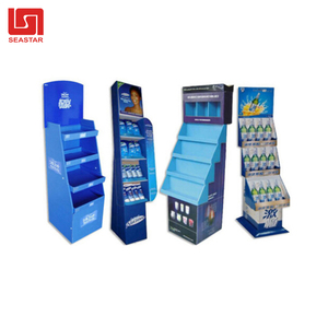 Hot Sale PP Corrugated Sheet Cardboard Plastic Carton Stand Display