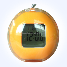 Funny desk LED digital talking alarm clock with temperature
