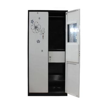 newest 3b885 cf747 Latest Bedroom Furniture Designs 2 Door Metal Wardrobe With Mirror Inside -  Buy Wardrobe Bedroom,Wardrobe,Furniture Bedroom Product on Alibaba.com