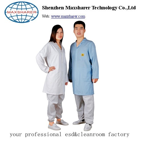 Cotton&polyester Antistatic smock