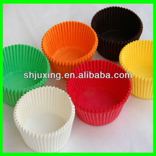 Different Type Colorful paper baking cups