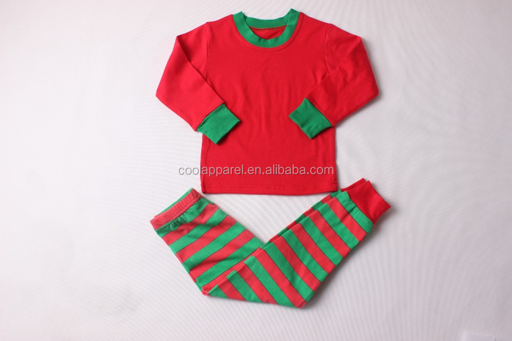 2016 fashion wholesale infant cute red family christmas pajamas