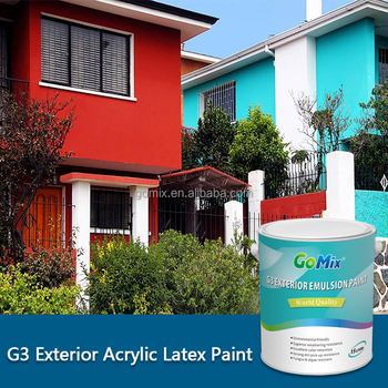 Uv Resistant G3 Washable Exterior Wall Paint